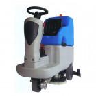 Podlahový sedící mycí stroj - Bateriový NEREZOVÝ - ECOSMILE 75