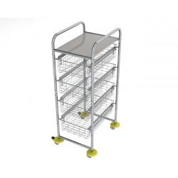vozíky na přepravu a třídění odpadu a prádla - Ambulant mini 2