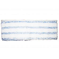 mop plochý Premium 50 cm - bílo/modrý