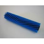 kartáč nylon DELUX55R zadní - modrý