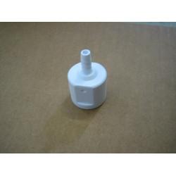 šroubení -vývod z čerpadla Falcon  (bílý plast)