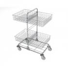 vozíky na přepravu a třídění odpadu a prádla - Nemo mini