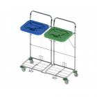 vozíky na přepravu a třídění odpadu a prádla Vako 120C/2N