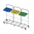 vozíky na přepravu a třídění odpadu a prádla Vako 120C/3