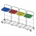 vozíky na přepravu a třídění odpadu a prádla Vako 120C/4N