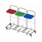 vozíky na přepravu a třídění odpadu a prádla Vako 80C/3N