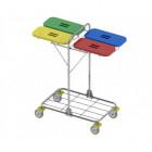 vozíky na přepravu a třídění odpadu a prádla Vako 80H