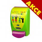 Dávkovač Proline 1L Wash your hands dětská řada - AKCE